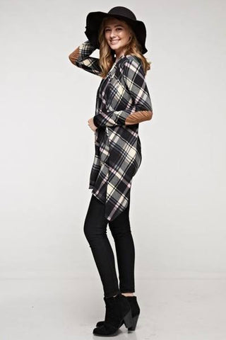 Perfect Plaid Cardigan, Cardigans