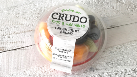 Crudo Fruit Salads have entered Woolworths statewide!