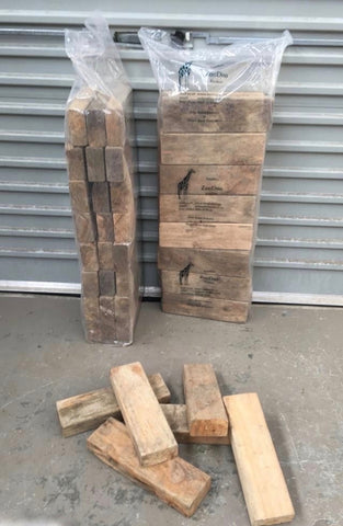 ZooDoo Firewood, untreated offcuts