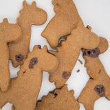 Giraffe shaped Peanut Butter and Dog Safe Chocolate Drops - Treat your pup