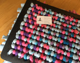Lolly Scramble Pink & Blue Doggy Snuffle Mat (also great for Cats) - Large
