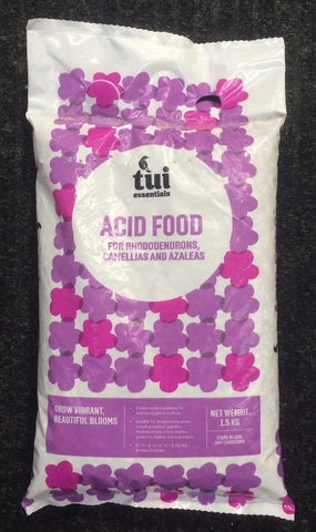 ~ Tui Acid Food, 1.5kg bag