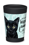 Black Cat Coffee Cup - 12oz