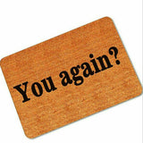 """You Again"" bathroom / shower mat"