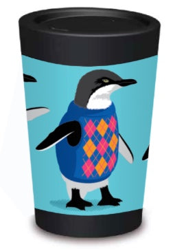 Penguins Coffee Cup - 12oz