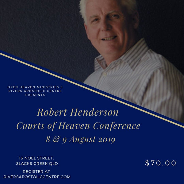Robert Henderson 'Courts of Heaven' 2019 Conference