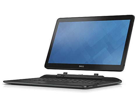 Dell Latitude 7350 Convertible Laptop, Full-HD IPS Touchscreen, Intel Core M-5Y71 Dual-Core, 8GB DDR3, 256GB Solid State Drive, 802.11ac, Win8.1Pro, Black, 13.3  inches