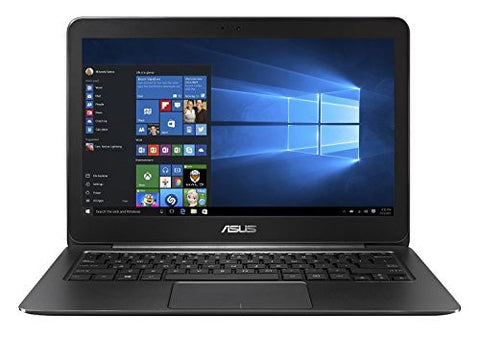 Asus Zenbook UX305FA-USM1 13.3-Inch Laptop (Intel Core M-5Y10, 8 GB RAM, 256GB SSD, Windows 10), Greyish Black