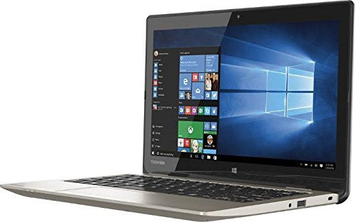 Toshiba Satellite CL15T-B1204X 11.6″ Notebook - Celeron N2840 2.16 GHz - 2 GB RAM - 32 GB SSD - Satin Gold