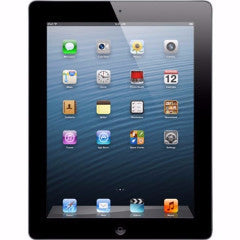 "Apple iPad 4 16GB 9.7"" Retina Display WiFi Bluetooth & Camera - Black - 4th Gen"