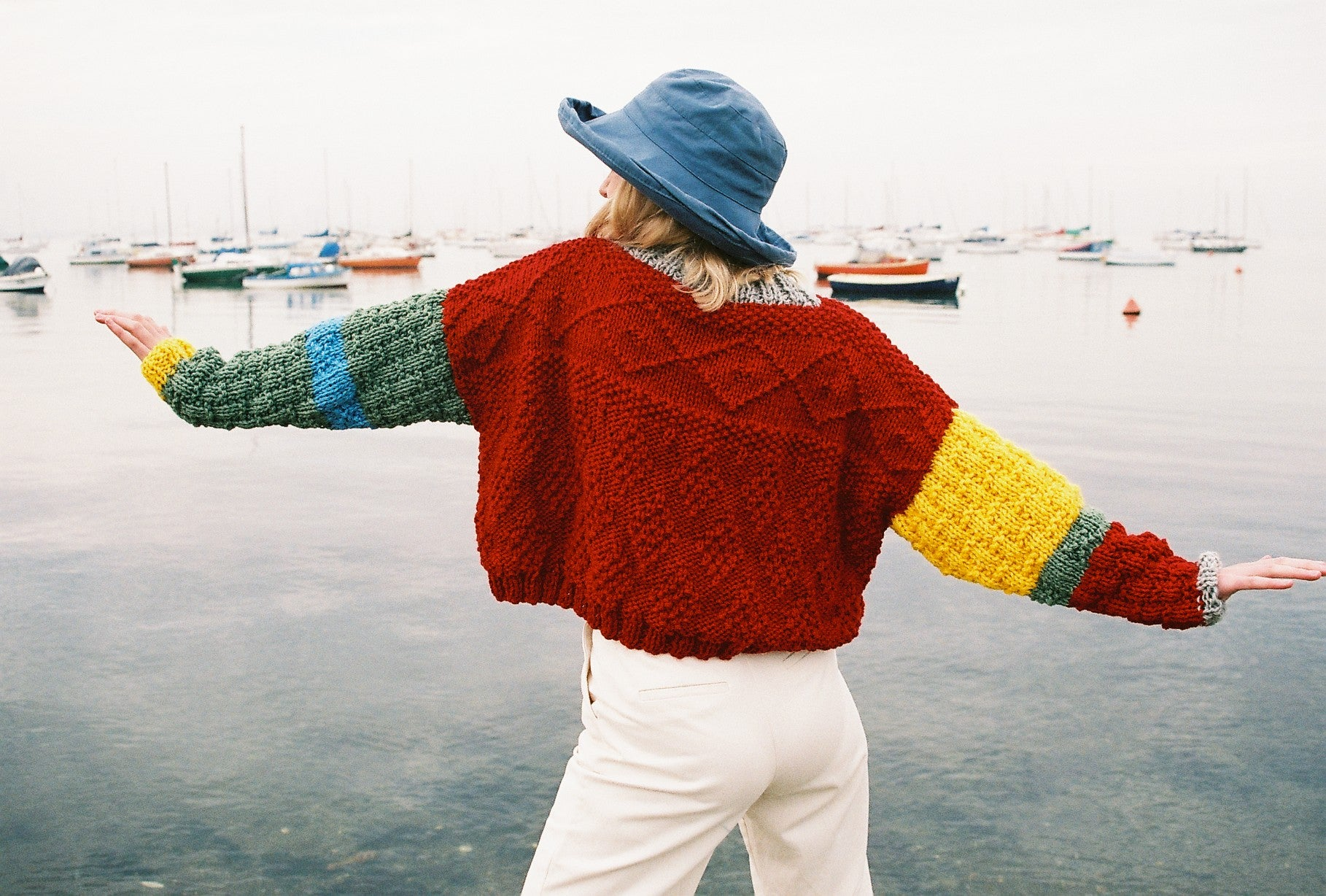 Double-Yarn Cropped Jumper
