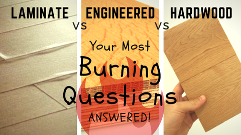 Laminate Flooring vs Engineered Wood Flooring vs Hardwood: Your Most Burning Questions, Answered!
