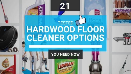 best hardwood floor cleaner options