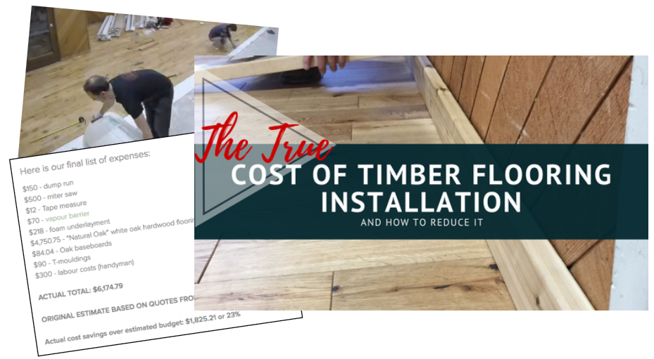 cost of timber flooring installation