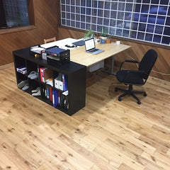 flooring options for home office or den, white oak flooring
