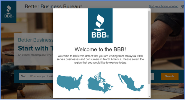 flooring stores and flooring companies on Better Business Bureau