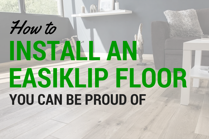 How to install and easiklip floor, oak floating hardwood click and snap together flooring vancouver