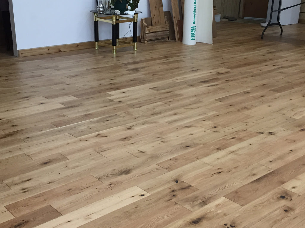 floating solid hardwood floor natural oak flooring