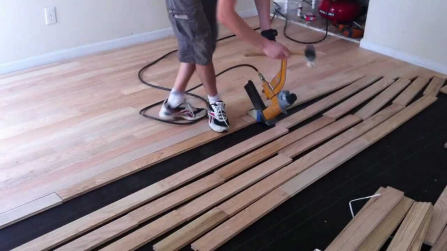 diy hardwood floor installation