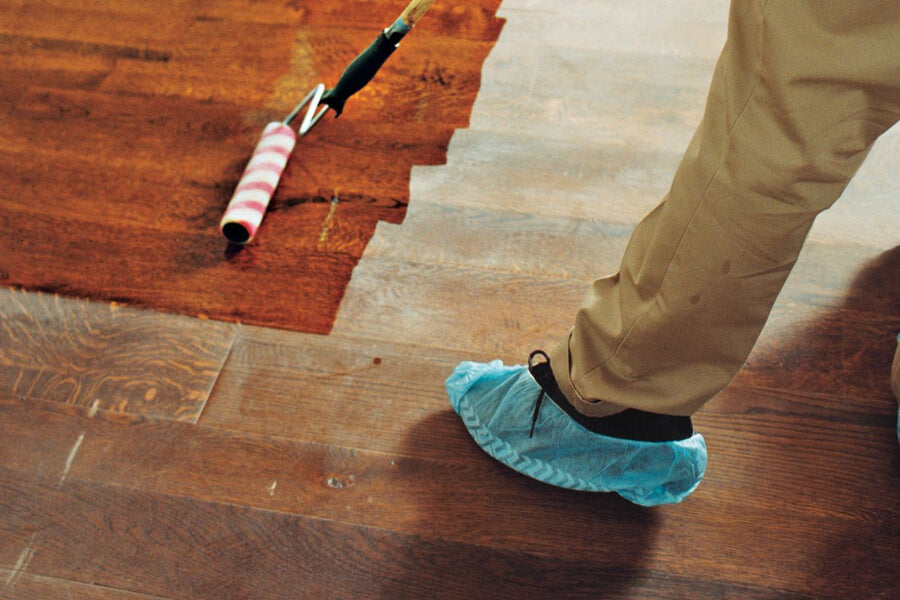 Recoating – For Light Wear and Covering Floor Scratch Repair