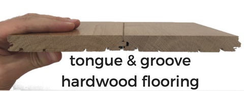 tongue and groove hardwood flooring installation
