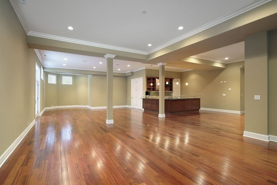 how to install floating hardwood floors on concrete