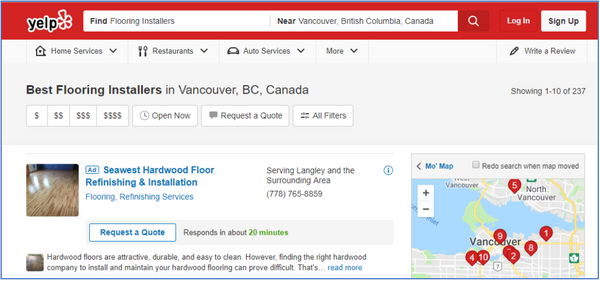 Hardwood flooring company and flooring stores on Yelp