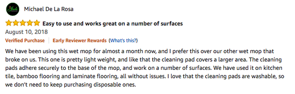 floorspeeder hardwood floor mop review