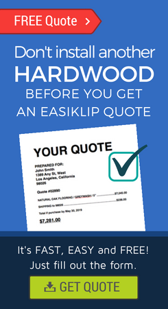 how much does hardwood flooring cost, get a quote hardwood floors, easy hardwood flooring, clip together hardwood, easyclip easiklip