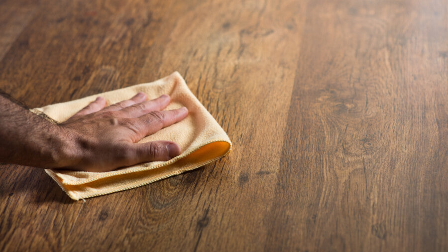 how to get dents out of hardwood floors