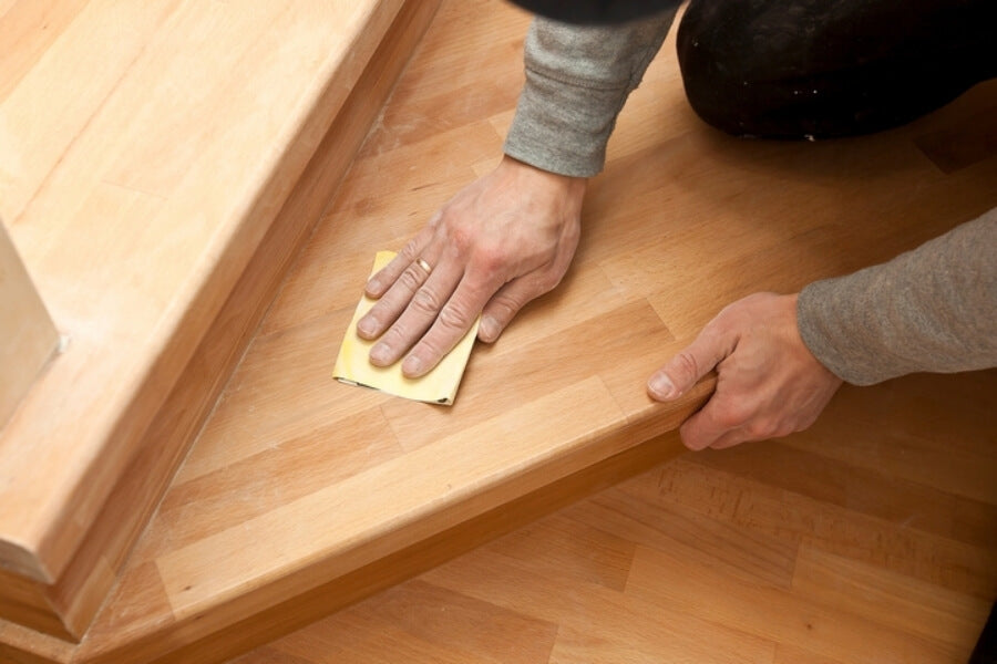 how to remove dents in hardwood floors