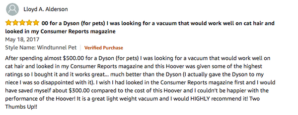 best vacuum for pet hair review Hoover T-Series WindTunnel Pet Bagged Corded Upright Vacuum UH30310