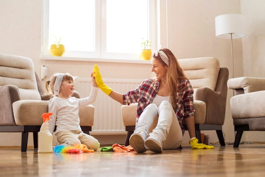 healthy hardwood floors for your family