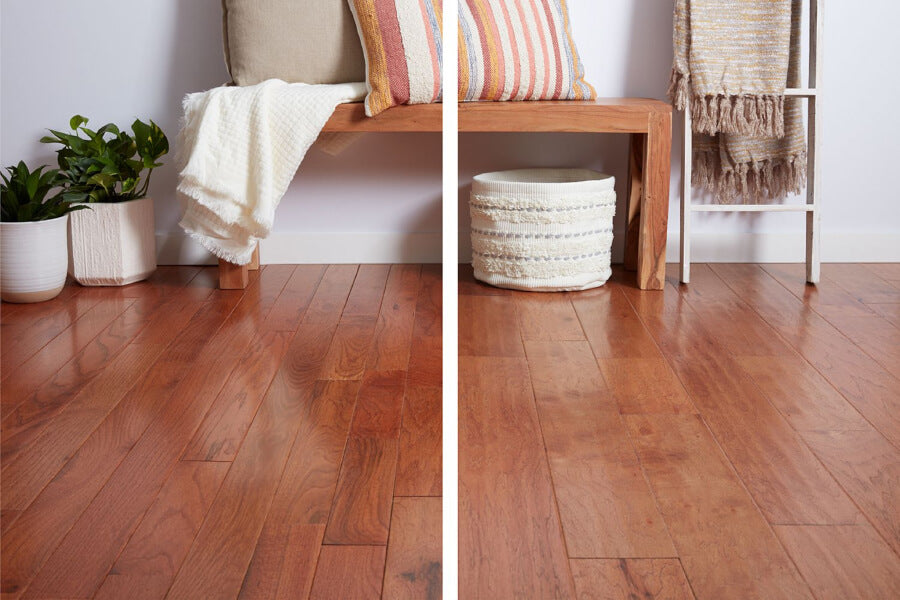 easiest hardwood flooring to install