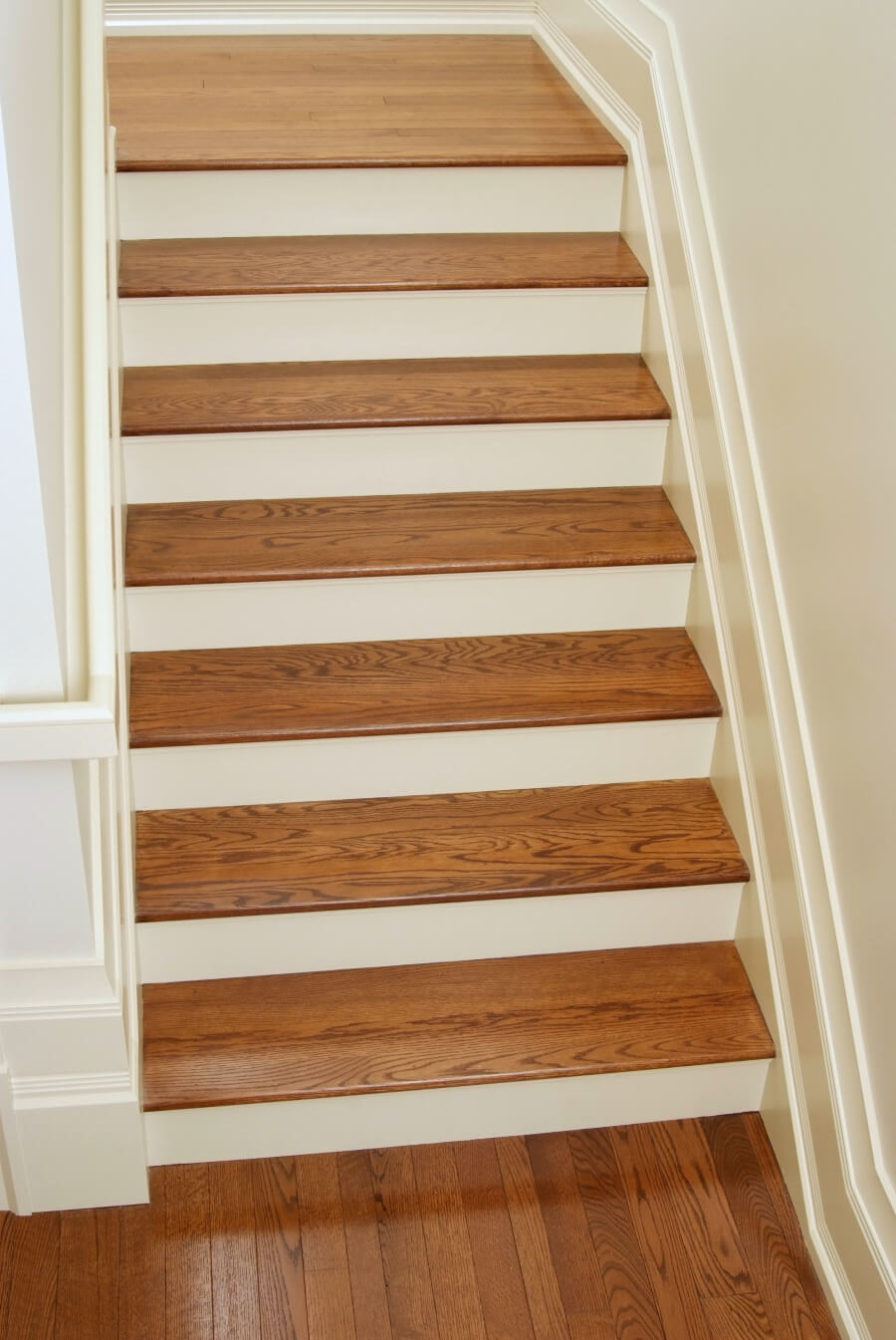 how to install stair treads