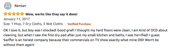 swiffer hardwood floor cleaner review