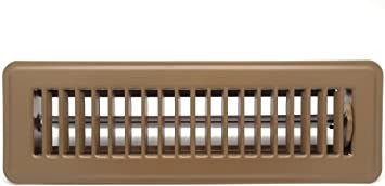 louvered or register style floor vent cover