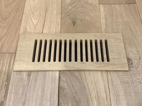 wooden floor vent cover from easiklip