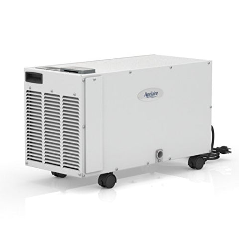 Aprilaire 1850F Basement Pro Dehumidifier for Basement or Crawl Space, with 5 Ft Drain Hose, Dehumidifies Up to 3000 Sq Ft, Removes Up to 12 Gallons (95 Pints) of Water/Day