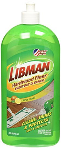 Libman 2065 Hardwood Floor Everyday Cleaner Squeeze Bottle
