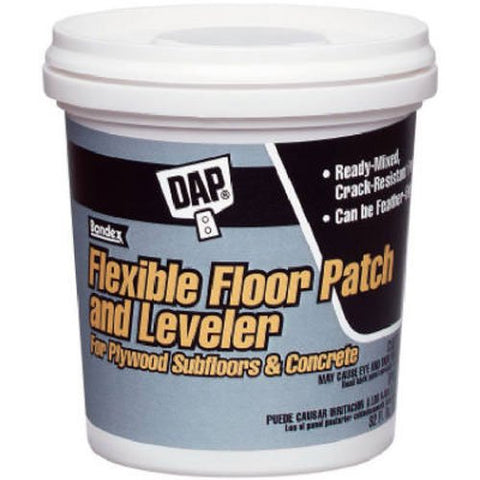 DAP 7079859184 Rm Flex Floor Patch & Leveler Raw Building Material, Light Gray