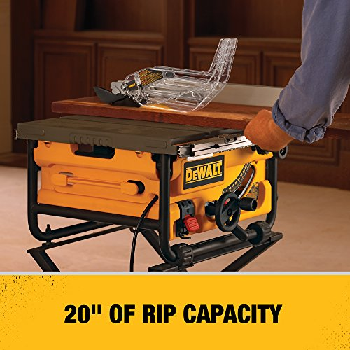 Dewalt Dw745 10 Inch Compact Job Site Table Saw Easiklip