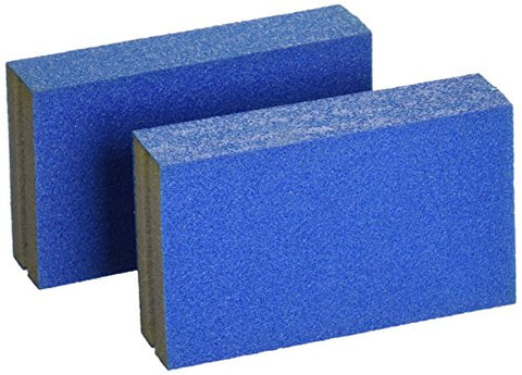Norton 82065 5X 180 Grit Small Area Sanding Sponge, 2-Pack