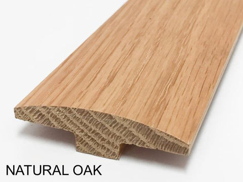 T-Molding - White Oak, 5/8 in. Thick x 2 in. Wide x 78 in. Length