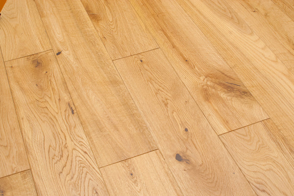 Natural Oak 5 Quot White Oak Solid Hardwood Easiklip