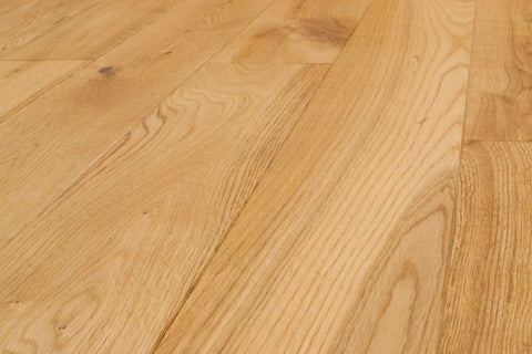 Natural Oak - Solid White Oak Floating Hardwood Floor, Easyclip easy clip - Easiklip Canada