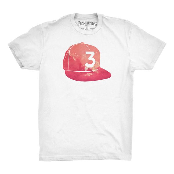 Chance the Rapper 3 Hat Colored T-Shirt