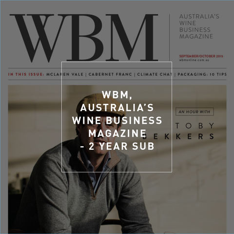 WBM Subscription - 2 years Australia