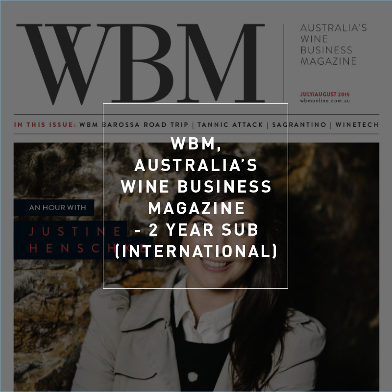 WBM Subscription - 2 Years International