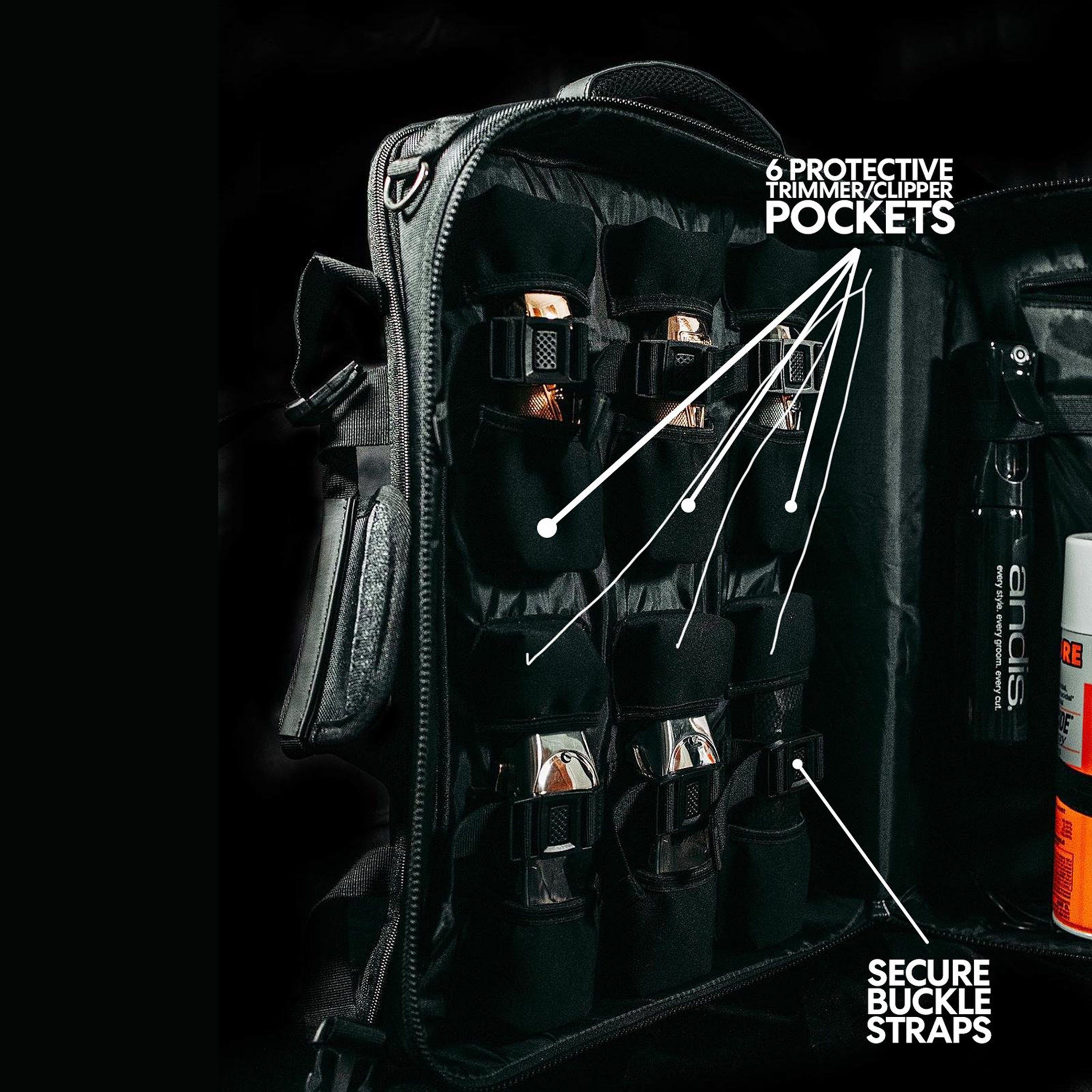 BarberVille Mobile Bag (Cordless Edition)